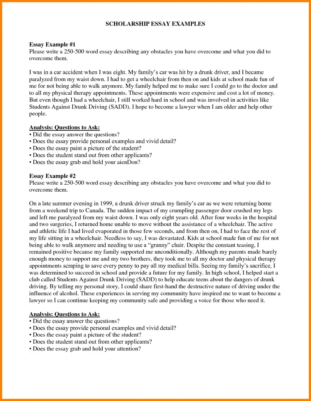 027 Example Scholarshipon How To Write Essay For Simply Tossed Aside Because The Time You Tips Inside Sales Volume Staggering Scholarship Application Mba Sample College Ideas Large