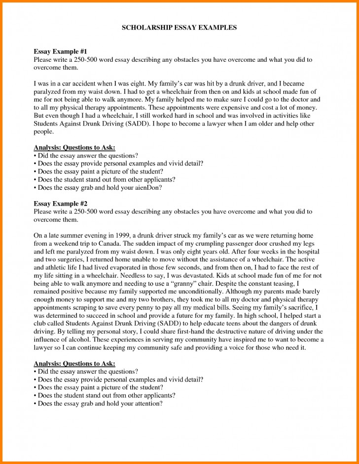 027 Example Scholarshipon How To Write Essay For Simply Tossed Aside Because The Time You Tips Inside Sales Volume Staggering Scholarship Application Mba Sample College Ideas 728