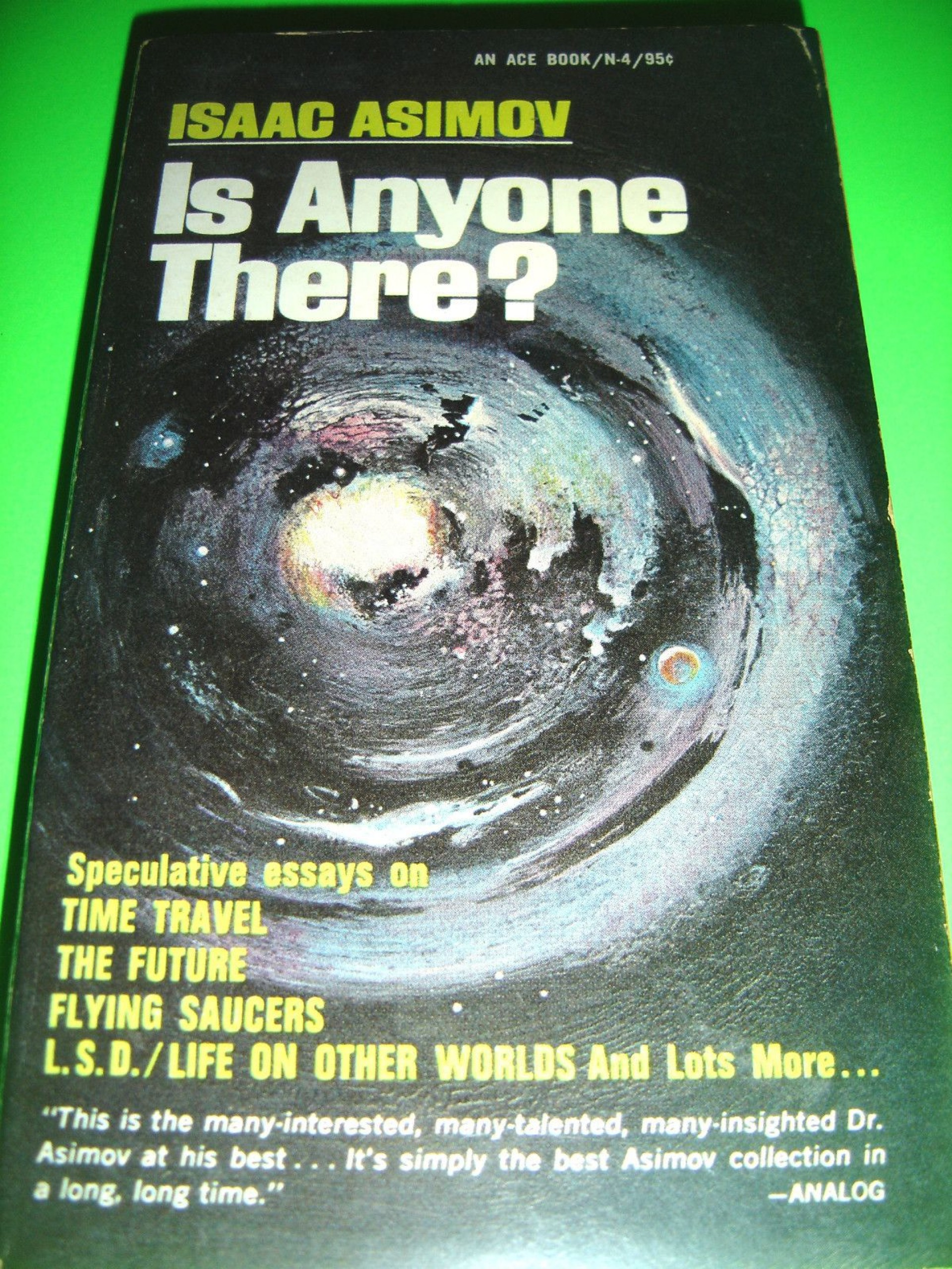 027 Isaac Asimov Essays Essay Awful On Creativity Intelligence 1920