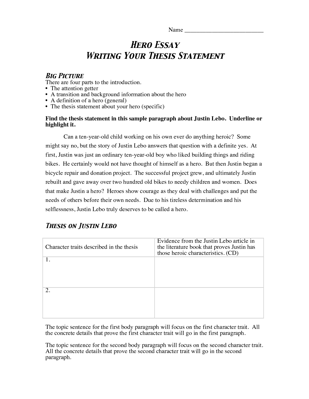 027 Kfvtsngbe0 Essay Example What Is Thesis Statement In Fascinating A An The Purpose Of Argumentative Informative Full