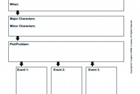 027 Narrative Essay Graphic Organizer Example Incredible Middle School Pdf Story