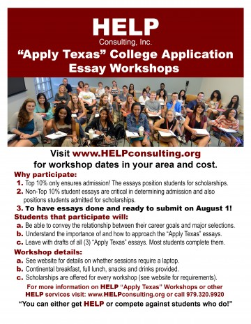 028 Applytexas Essay Example Help Ap Tx Flyer Fearsome Format Apply Texas Topics Fall 2018 Length 360