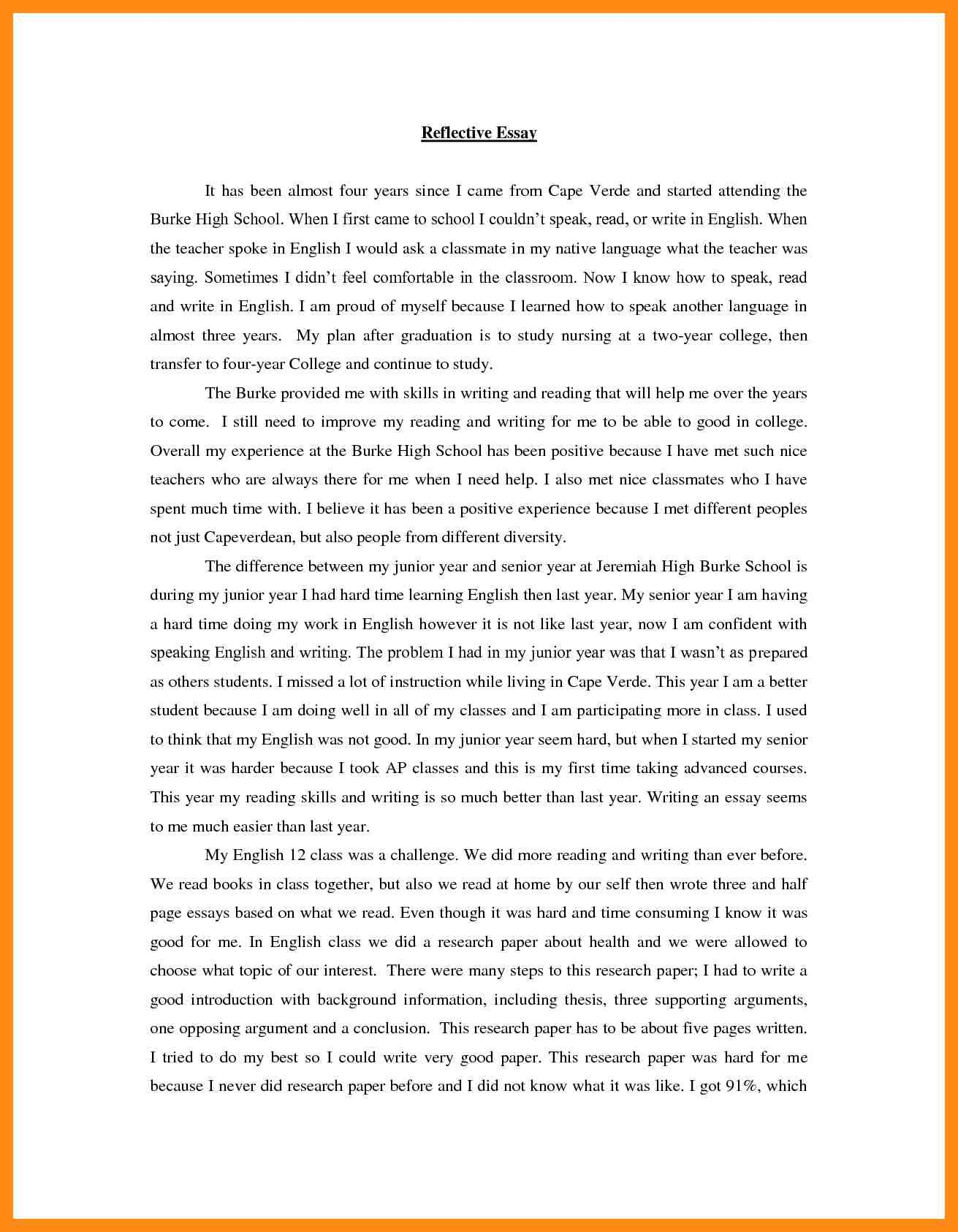 essay reflective essay on teamwork with reflective essay on writing