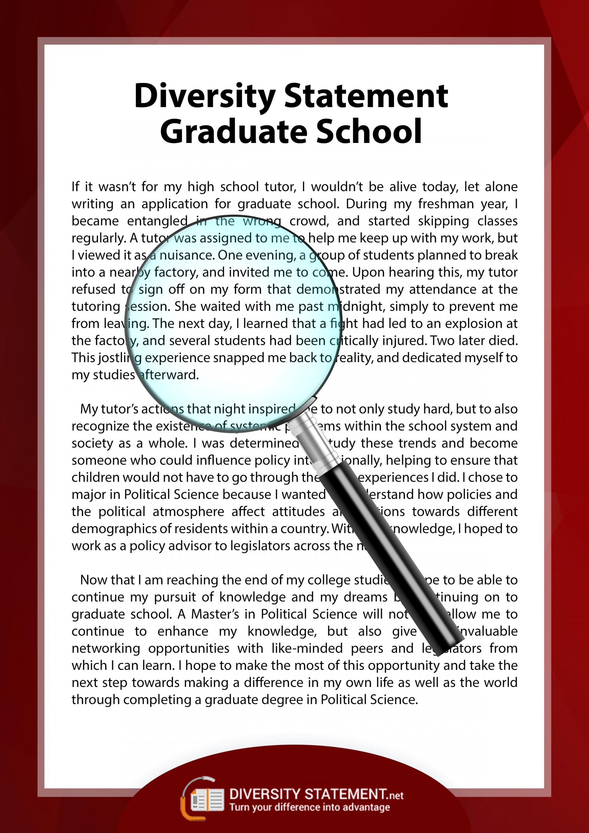028 Essay Example Diversity Statement Sample Graduate Remarkable Law School Uw Examples Medical 1920