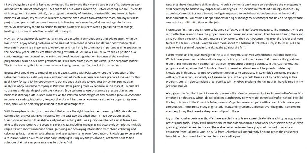 028 Essay Example Future Goal Examples Career Goals Nursing Writing So Stirring Pdf Large