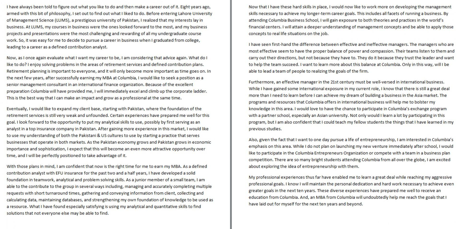 028 Essay Example Future Goal Examples Career Goals Nursing Writing So Stirring Pdf 1920