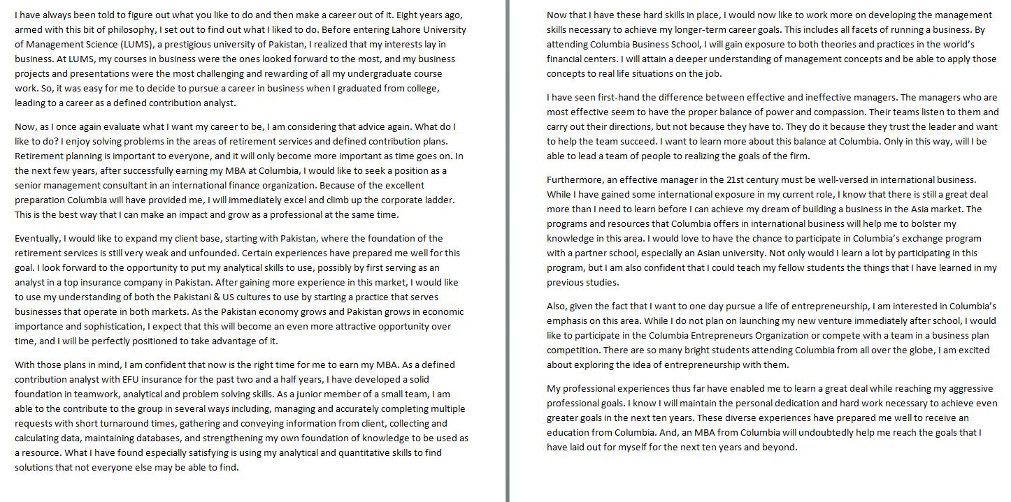 028 Essay Example Future Goal Examples Career Goals Nursing Writing So Stirring Pdf Full