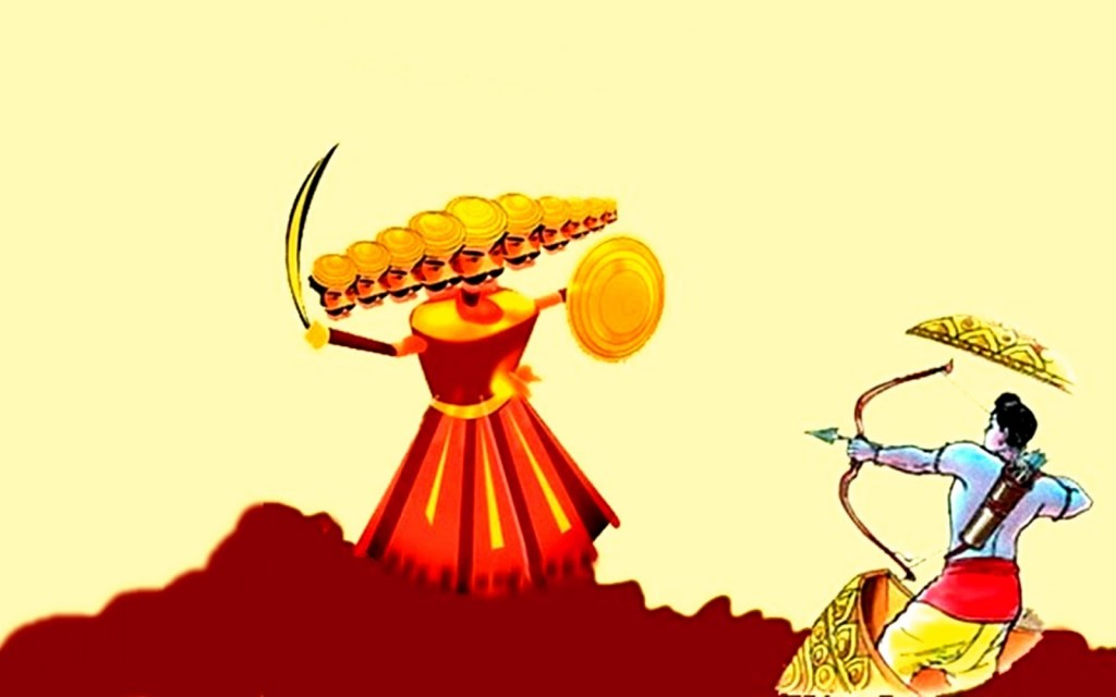 028 Essay Example On Dussehra Festival In English Happy Surprising Large