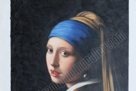 028 Girl With Pearl Earring Essay Example Oil Painting Reproduction Outstanding A The Movie Film Review 320