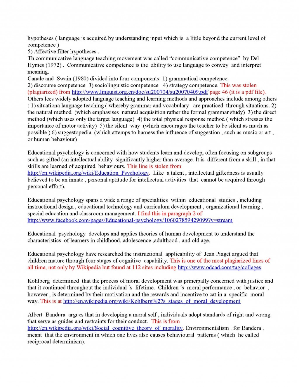 028 Initial Essay Read And Graded Page 2 Checker Shocking College Free Punctuation H Large