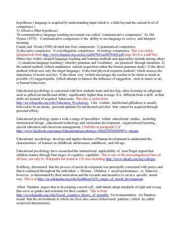 028 Initial Essay Read And Graded Page 2 Checker Shocking Plagiarism Online Grammatical Free Software College 360