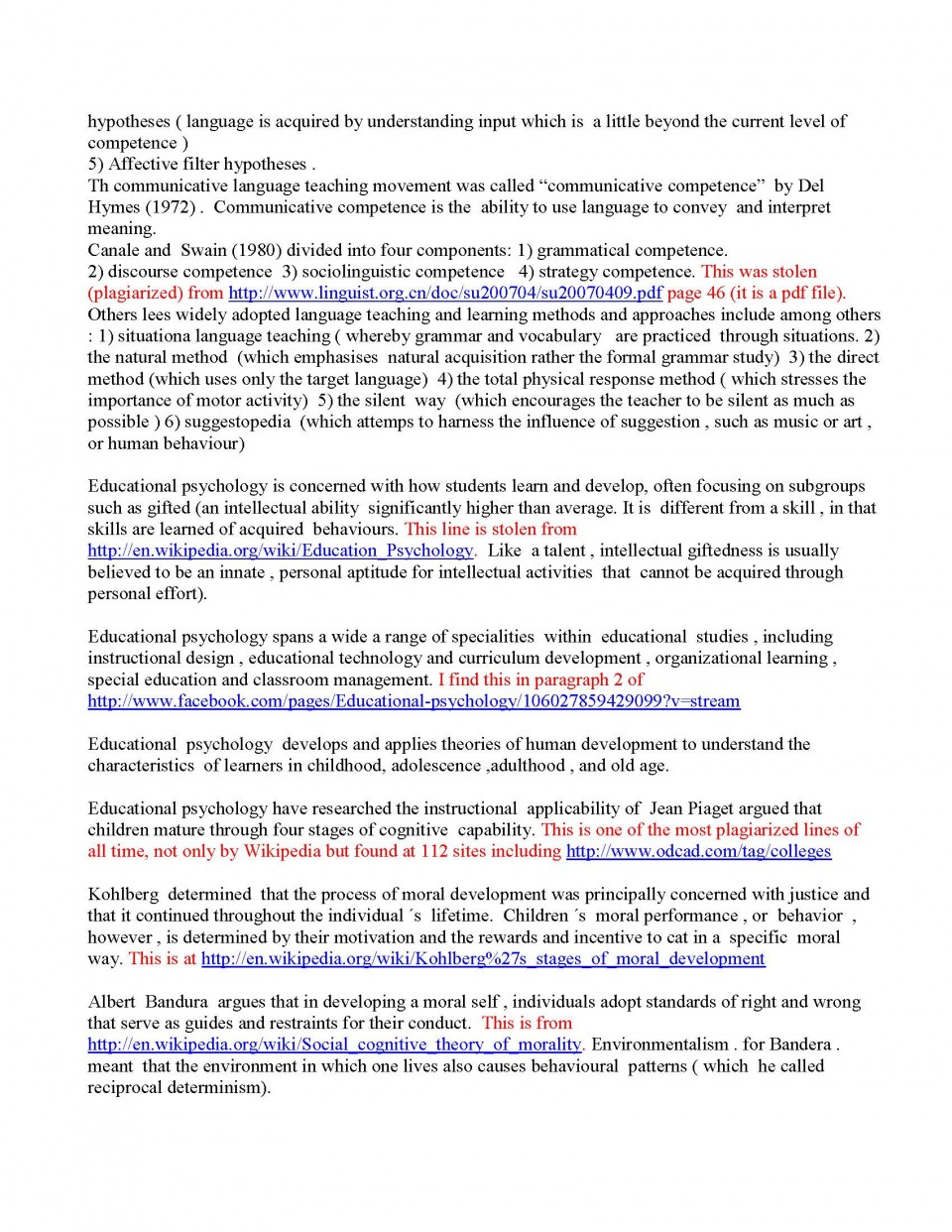 028 Initial Essay Read And Graded Page 2 Checker Shocking College Free Punctuation H 960