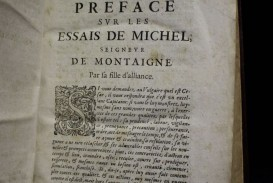 028 Michel Montaigne Essays H Les Essais Jpg Essay Frightening De On Experience Summary Quotes