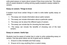 028 P1 Career Essay Amazing Research Rubric Example Goals Sample