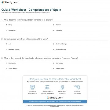028 Translate Essay To Spanish Example Quiz Worksheet Conquistadors Of Staggering My Into What Does Mean In 360