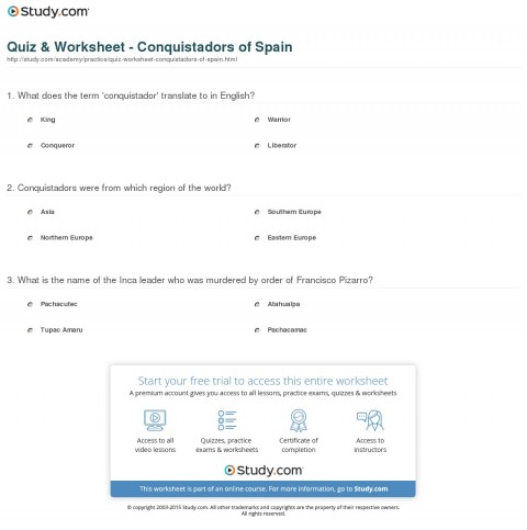 028 Translate Essay To Spanish Example Quiz Worksheet Conquistadors Of Staggering My Into What Does Mean In 480