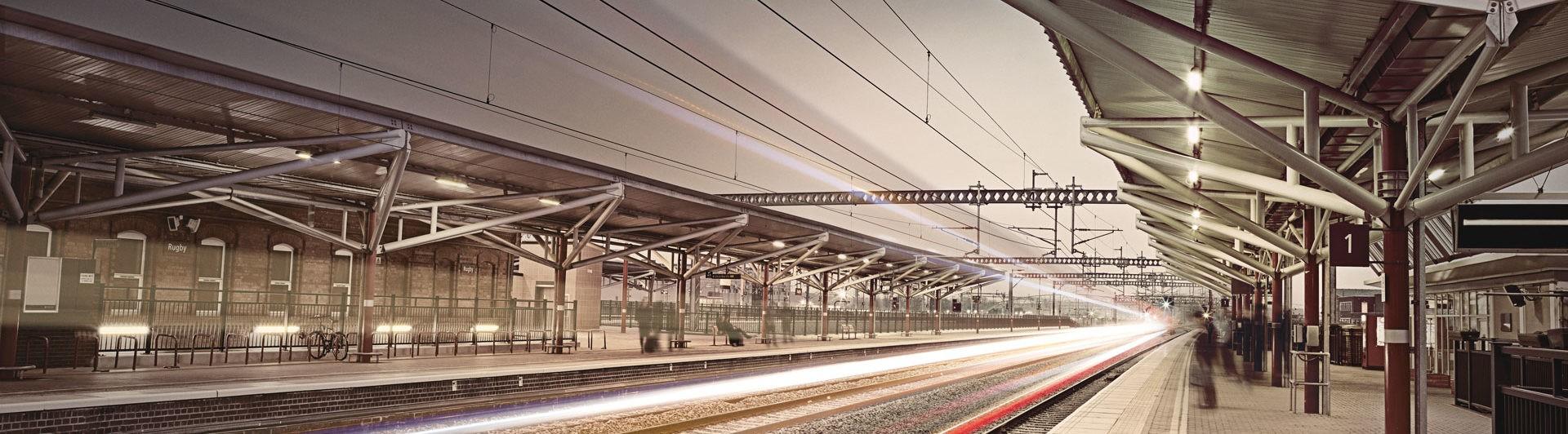 Beautiful Visit To Railway Station Essay ~ Thatsnotus