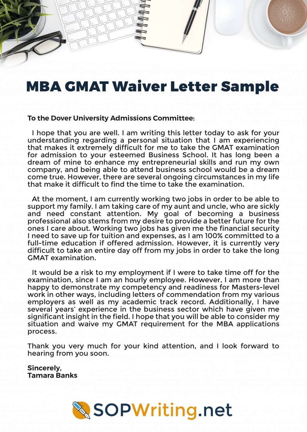 029 Mba Gmat Waiver Letter Sample Essay Shocking Topics Awa Essays Free Download Large