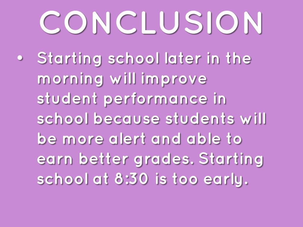 029 Why School Should Start Later Essay Example 295715b8bc 1464650221747 Excellent Reasons In The Morning Persuasive Large