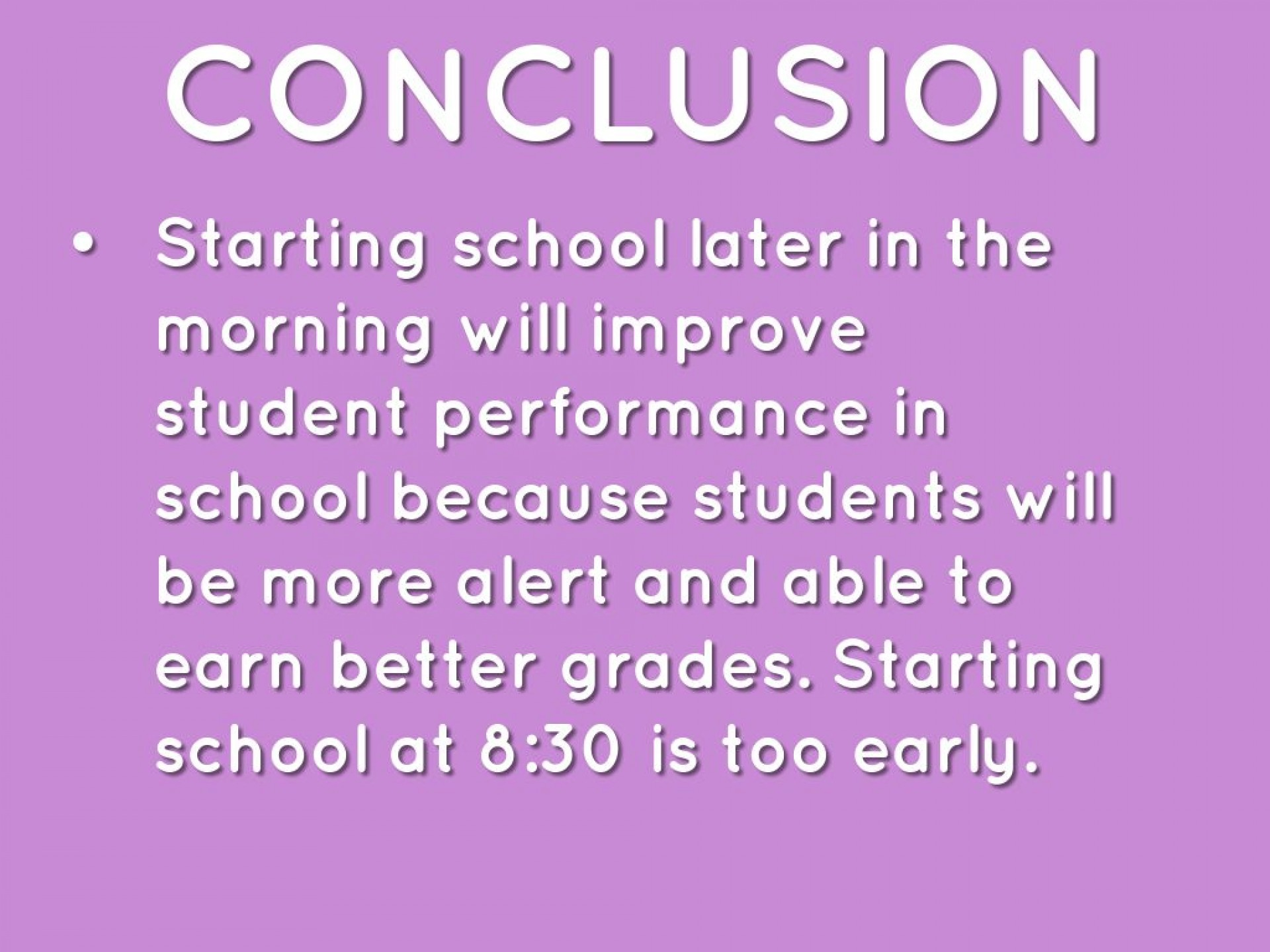 029 Why School Should Start Later Essay Example 295715b8bc 1464650221747 Excellent Reasons In The Morning Persuasive 1920