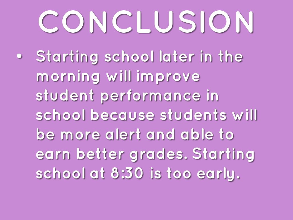 029 Why School Should Start Later Essay Example 295715b8bc 1464650221747 Excellent Reasons In The Morning Persuasive Full